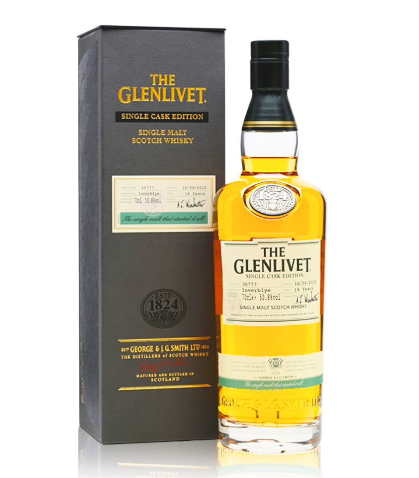 glenlivet single cask 18